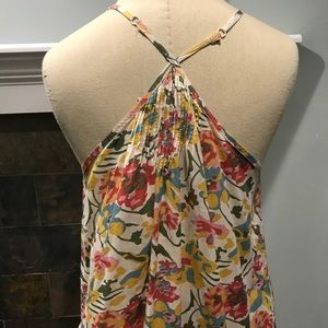 Floral Tank -Size Small. Perfect condition!